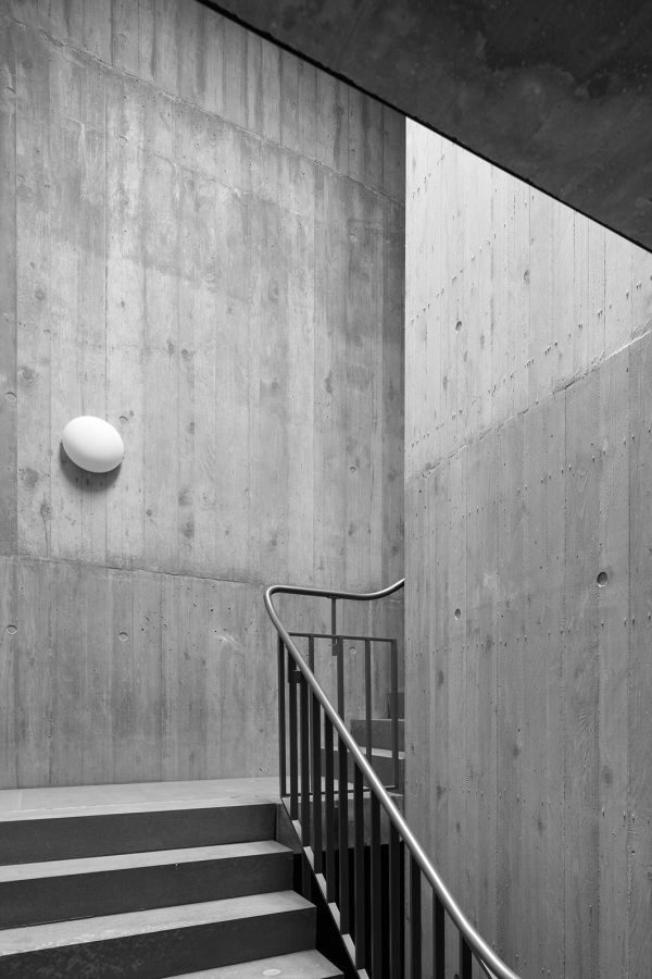 La Contenta, Domat/Ems, Architektur: Aita Flury (Bild: Ralph Feiner)