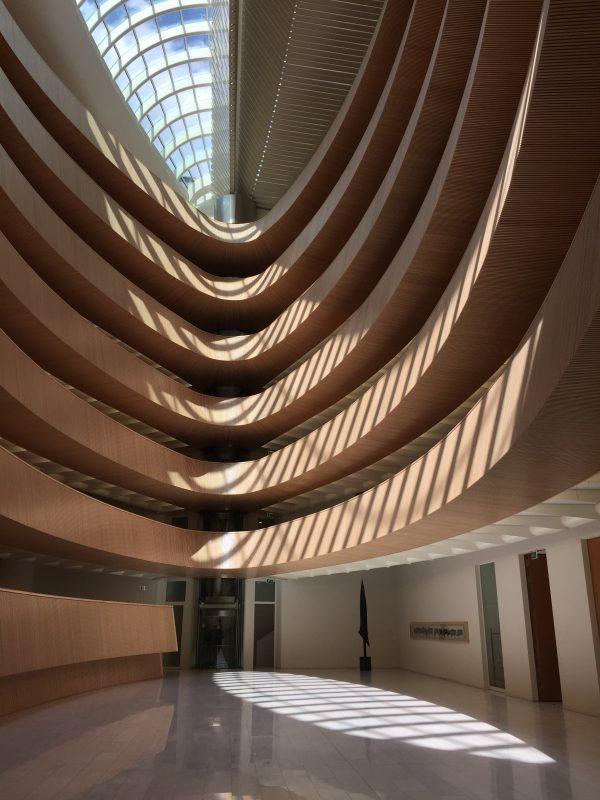 Bibliothek Uni Zürich, Architekt Santiago Calatrava (Bild: BP)
