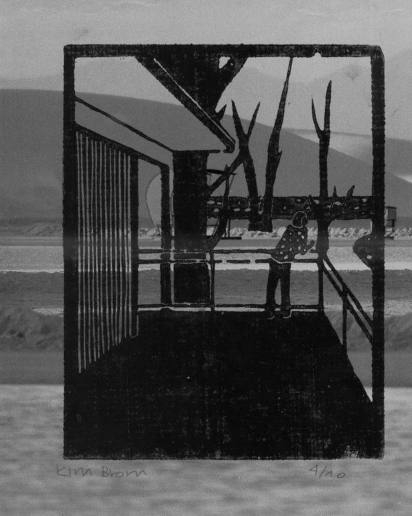 """Holzschnitt auf Foto (Bild: Lehrmittel """"Bauten, Städte, Landschaften"""")"""