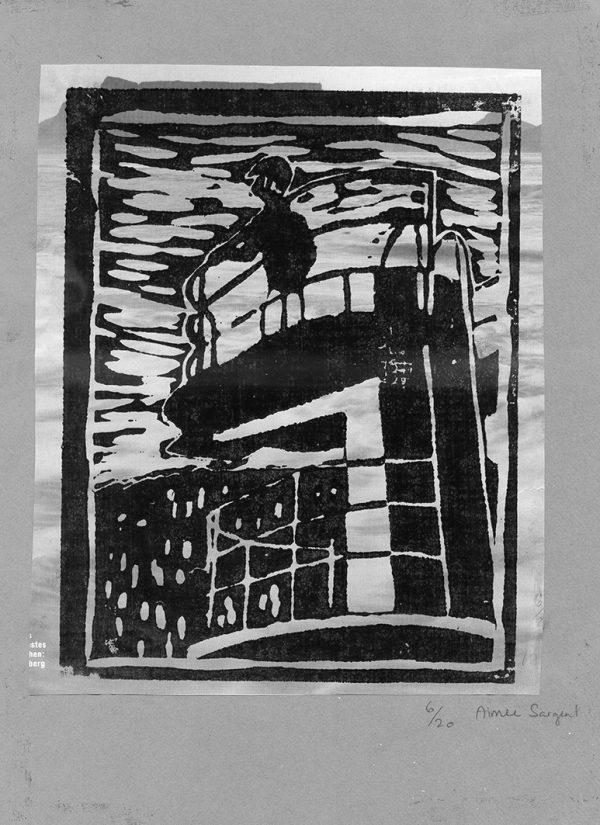 "Holzschnitt (Bild: Lehrmittel ""Bauten, Städte, Landschaften"")"