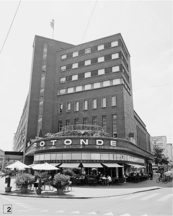 "La Rotonde, Biel (Bild: Lehrmittel ""Bauten, Städte, Landschaften"")"