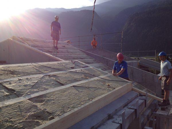 Baustelle |LA CONTENTA, Domat/Ems (Bild: Aita Flury)