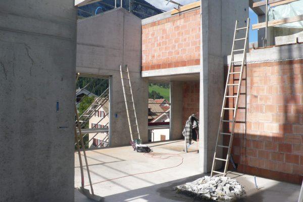 Baustelle |LA CONTENTA, Domat/Ems (Immagine: Aita Flury)