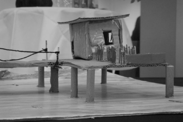 """Modell Wohnform (Image: Spacespot Projektwoche """"Mitten im Leben – wie wollt ihr wohnen?"""")"""