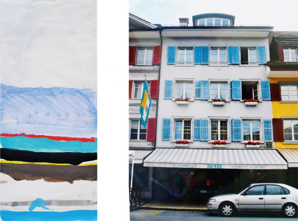 "Farbsafari Fassade (Bild: Lehrmittel ""Bauten, Städte, Landschaften"")"