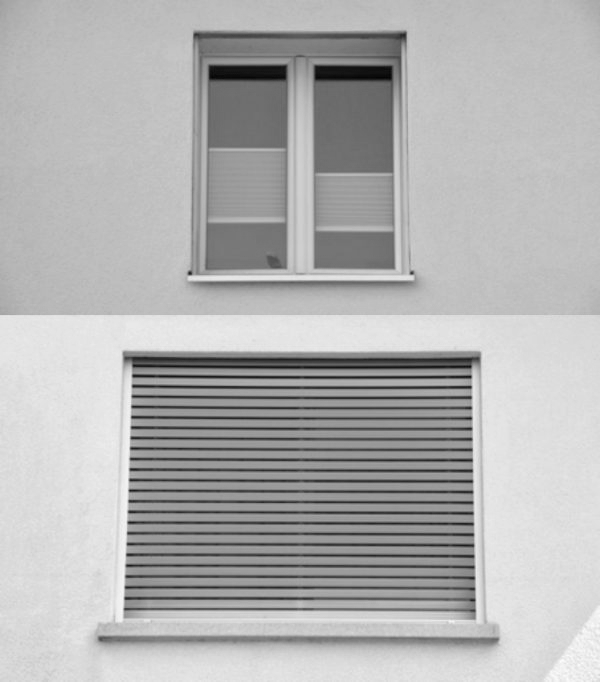 Fenster mit Rollläden (Image: David Häberli)