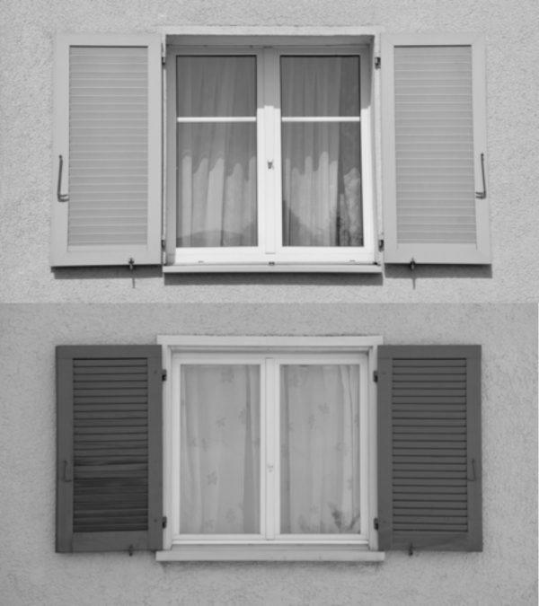 Fenster mit Holzläden (Image: David Häberli)