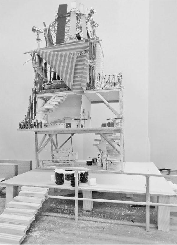 """T-Raum Modell (Bild: Lehrmittel """"Bauten, Städte, Landschaften"""")"""