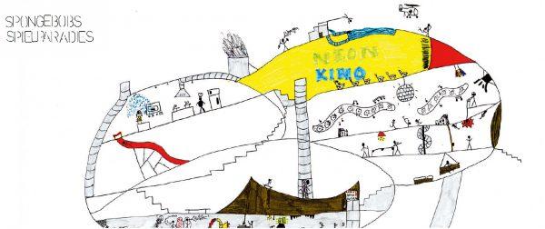 """T-Raum Spongebob Spielparadies (Immagine: Lehrmittel """"Bauten, Städte, Landschaften"""")"""