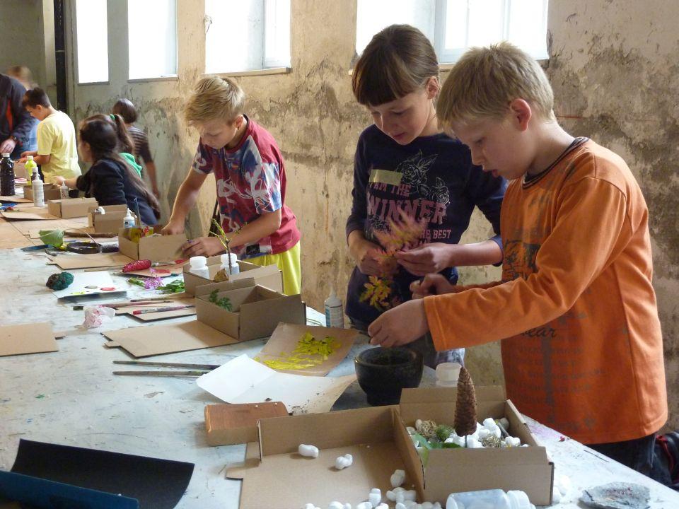 Fundaziun Nairs, Workshops für Kinder und Jugendliche, Foto by Stephan Hauswirth