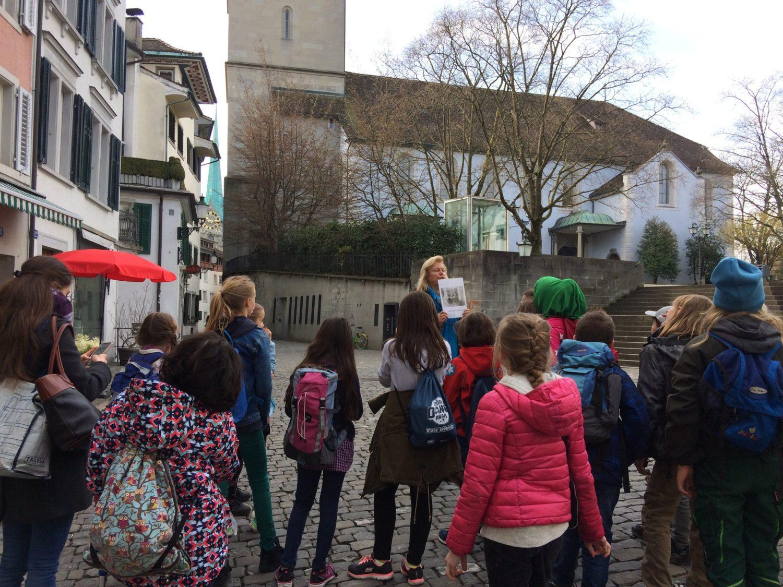 Pro Juventute Ferienplausch: Stadtführung in Zürich für Kinder