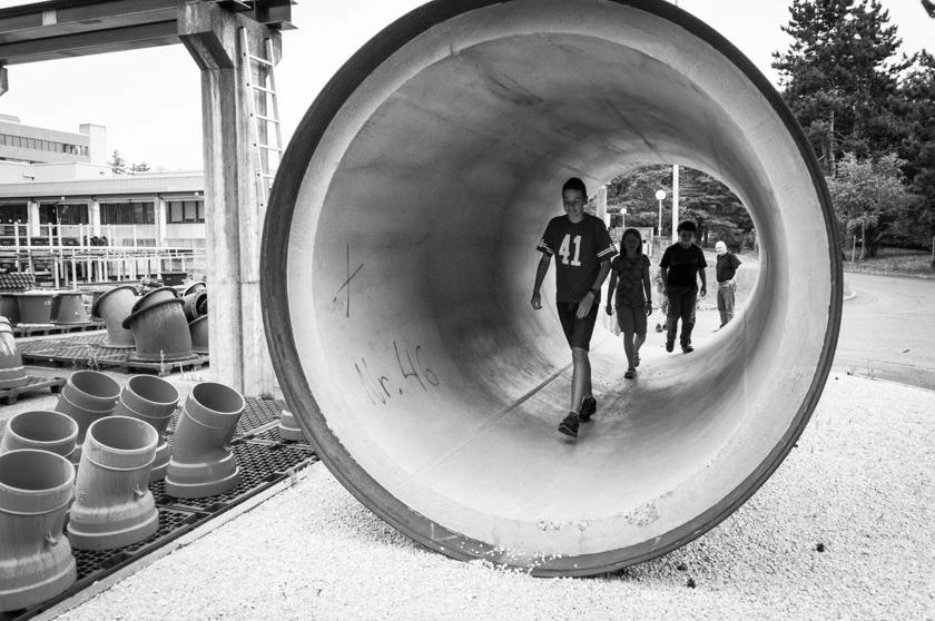 Pro Juventute Ferienplausch: Werkführung bei der Wasserversorgung Zürich