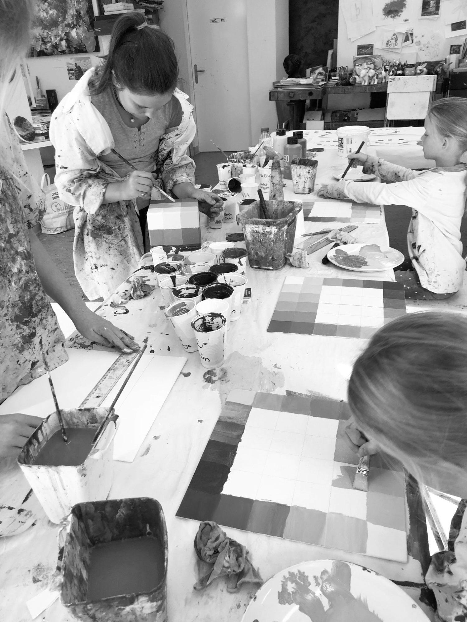 Pro Juventute Ferienplausch: Farben-Workshop in Horgen