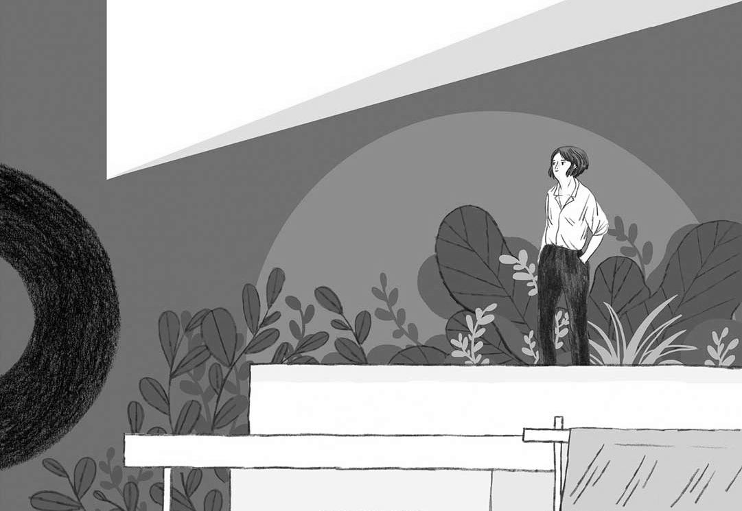 Graphic Novel über Eileen Gray