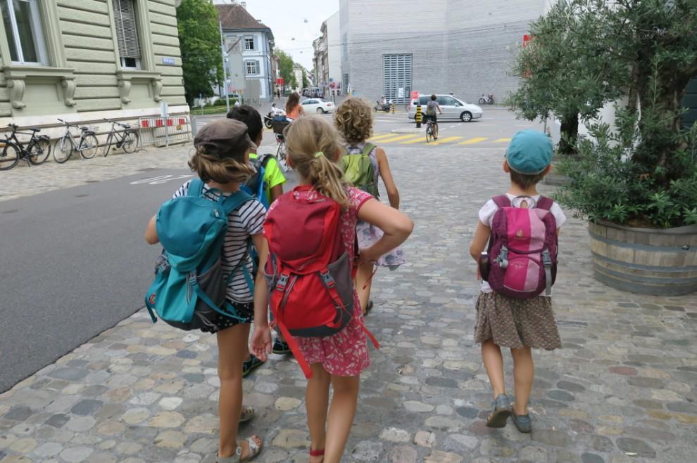 S AM Sommerferienworkshop: «Abenteuer Stadt – auf Spurensuche in Basel»
