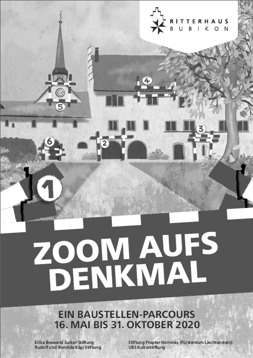 «Zoom aufs Denkmal» Der Baustellen-Parcours im Ritterhaus Bubikon