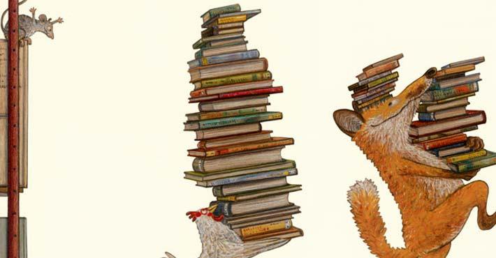 Bild von Kathrin Schärer aus «Pippilothek??? Eine Bibliothek wirkt Wunder»