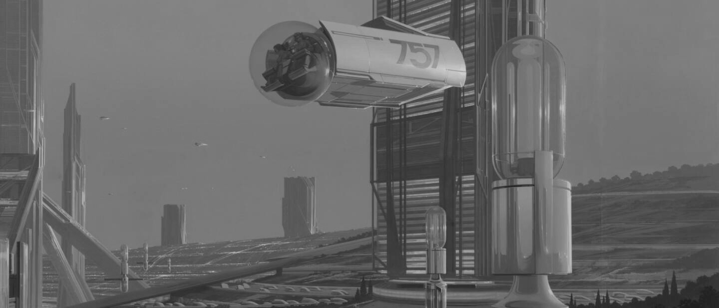 Syd Mead – Future Cities