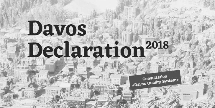 In der Vernehmlassung: Davos Quality System